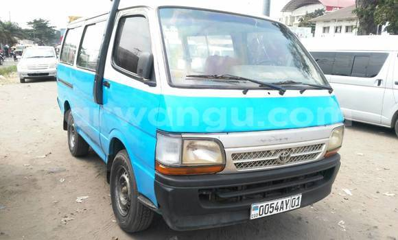 Acheter Voiture Toyota Hiace Blanc à Limete en Kinshasa