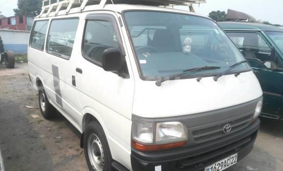 Acheter Voiture Toyota Hiace Blanc à Kalamu en Kinshasa