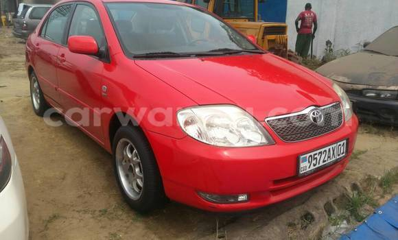 Acheter Voiture Toyota Corolla Rouge à Kalamu en Kinshasa