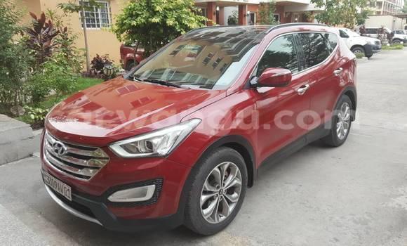 Buy Hyundai Santa Fe Red Car in Gombe in Kinshasa