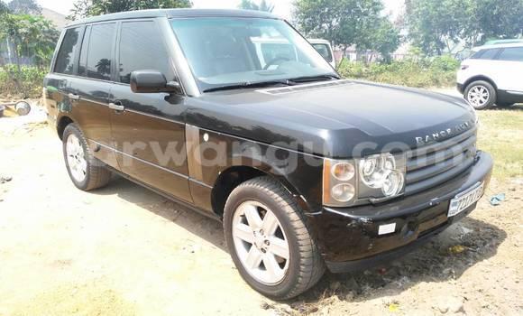 Acheter Voiture Land Rover Range Rover Noir à Limete en Kinshasa