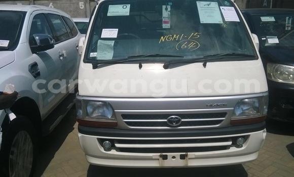 Acheter Voiture Toyota Hiace Blanc à Ngaliema en Kinshasa