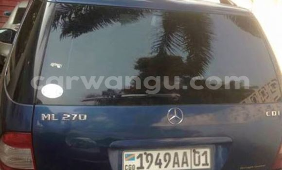Buy Mercedes Benz ML-Class Blue Car in Bandalungwa in Kinshasa