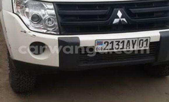Acheter Voiture Mitsubishi Pajero Blanc à Bandalungwa en Kinshasa