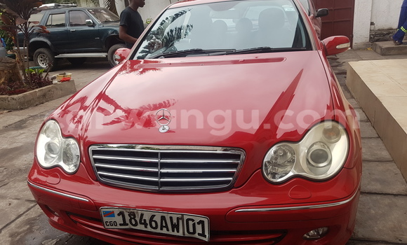 Buy Mercedes Benz C-Class Red Car in Limete in Kinshasa