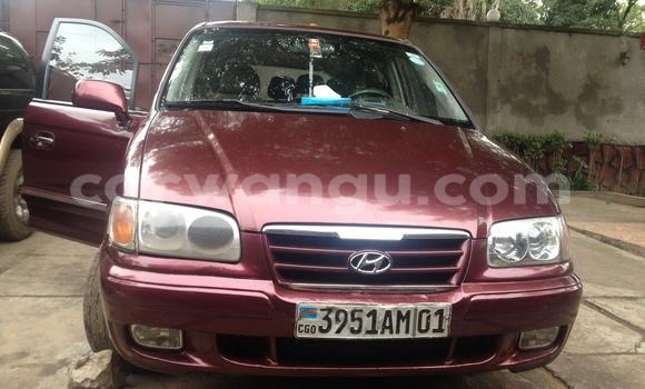 Acheter Voiture Hyundai Trajet Rouge à Kinshasa en Kinshasa