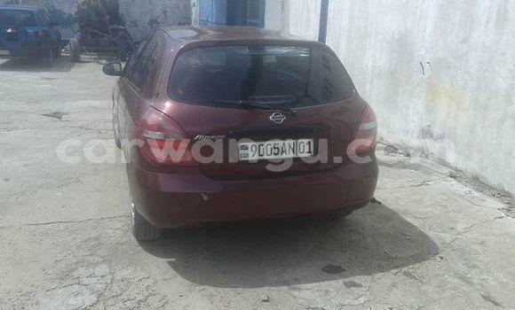 Acheter Voiture Nissan Almera Rouge à Bandalungwa en Kinshasa