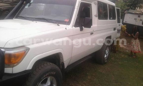 Buy Toyota Land Cruiser White Car in Bandalungwa in Kinshasa