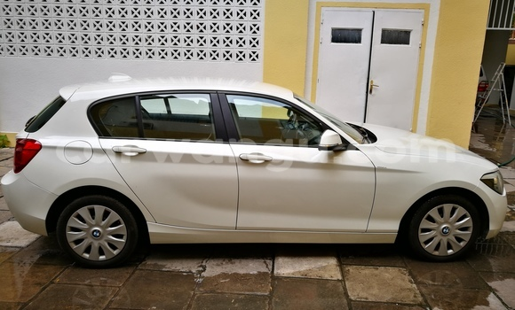 Buy BMW Series 1 White Car in Gombe in Kinshasa